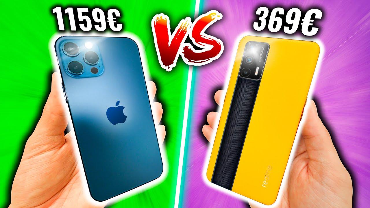 iPhone 12 Pro vs Tueur de Smartphone à 369€ ! (je suis choqué)