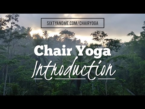 Chair Yoga for Seniors DVDs and Online Videos Introduction