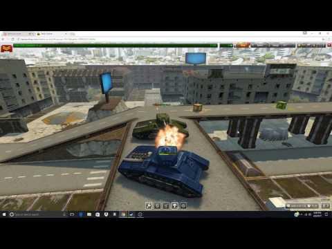 Playing Tanki Online w/Eeveemix Games n Church-lover