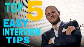 Top 5 Easy Interview Tips To Crack Your Interview ( Hindi)