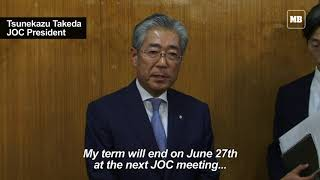 Japan Olympic chief facing corruption probe to step down