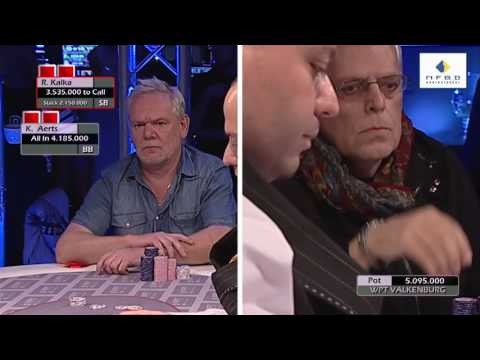 Kees Aerts wint WPT National Valkenburg 2015