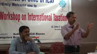 Intensive Workshop On International Taxation 12