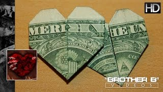 Origami ♥ Double Hearted Dollar