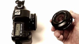 voigtlander pancake lenses for canon quick review on canon 5d mark ii