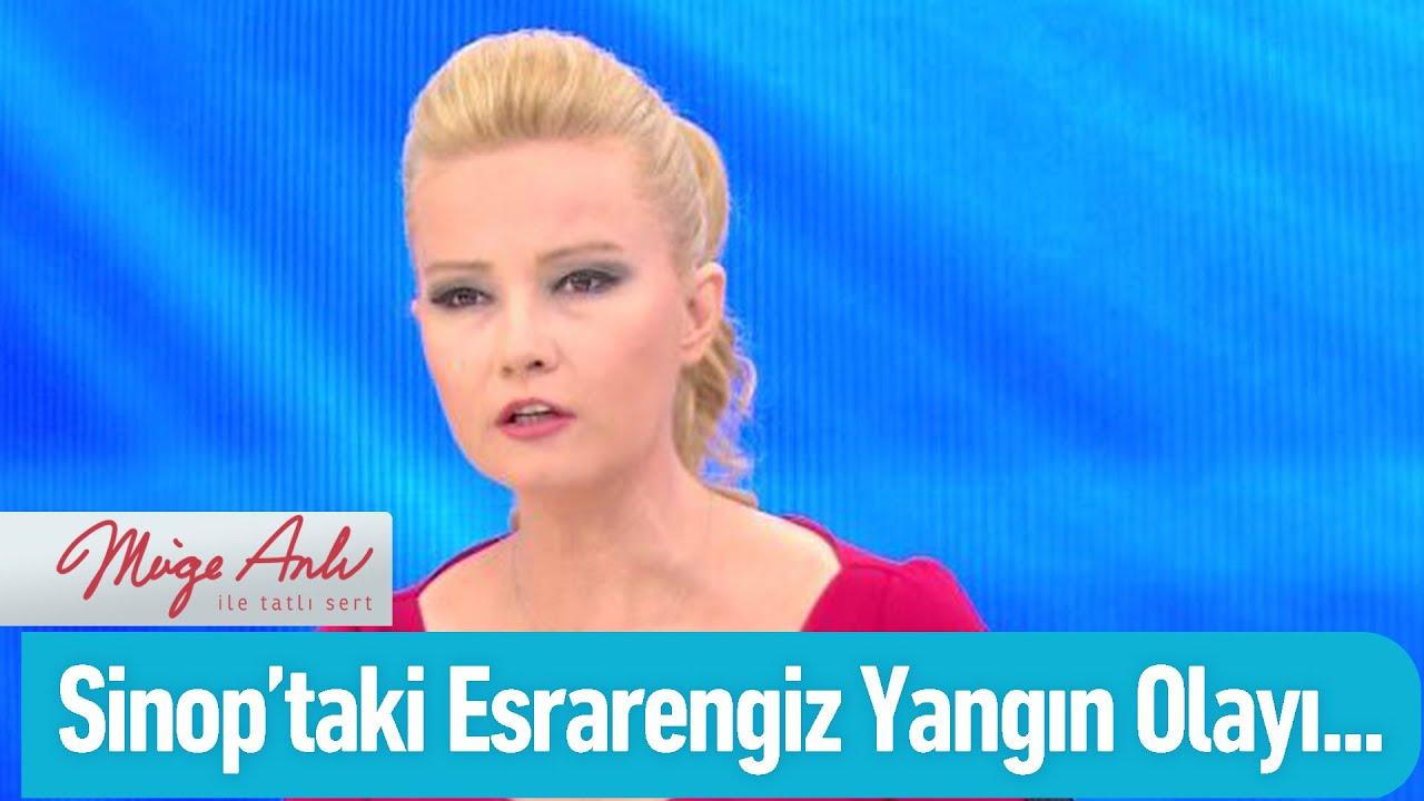 Sinop'taki esrarengiz yangın olayı! Özel Kolaj
