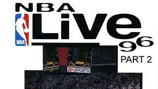 NBA Live 96 (SNES- with Michael Jordan) - annotated commentary (Part 2 of 2)