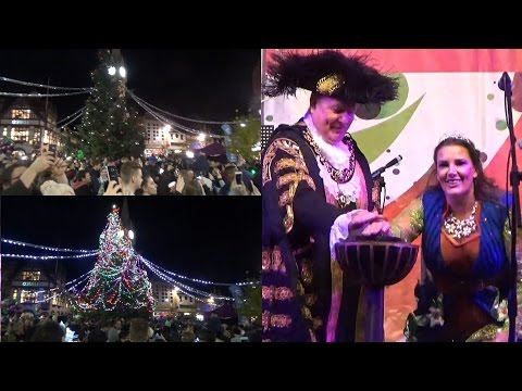 Leicester Christmas Lights Switch On 2016