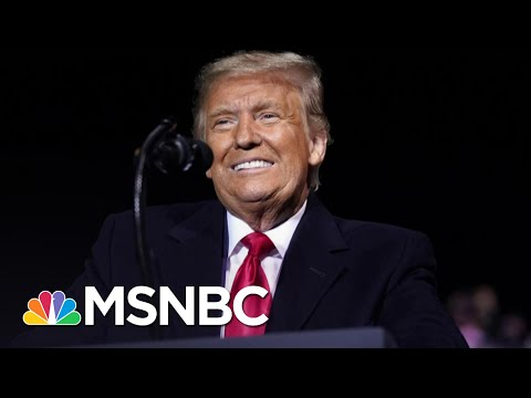 Trump Begs Suburban Women To Like Him At Packed Rally | The 11th Hour | MSNBC