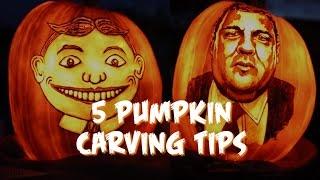 Carve a pumpkin like a pro for Halloween
