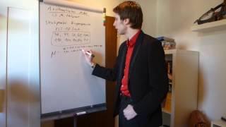 Arithmetisches Mittel (Mittelwert, Durchschnitt)