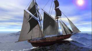 """The Old Gospel Ship"" By: The Harvesters Quartet"