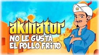A AKINATOR NO LE GUSTA EL POLLO FRITO XDDD | Juegos WTF | Lady Boss