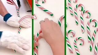 This Is How Candy Canes Are Made