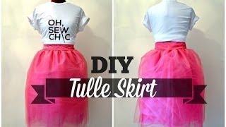DIY Tulle Skirt with Hidden Zipper (NO PATTERN) Thumbnail