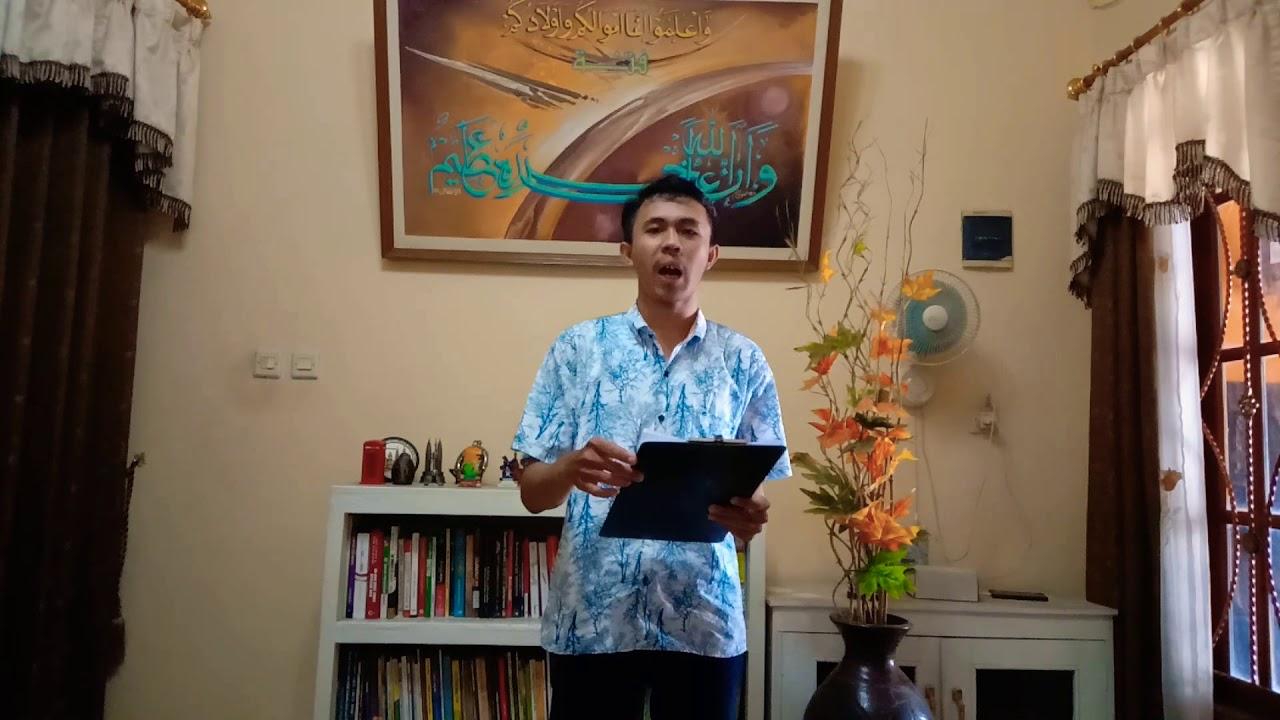 Puisi Mata Luka Sengkon Karta - YouTube
