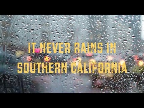 BACKSTAGE PASS #21 |  It Never Rains in Southern California??!? | Behind the Scenes