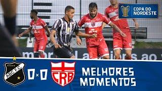 ABC 0 x 0 CRB | Melhores momentos | 4° rodada | Copa do Nordeste 2019