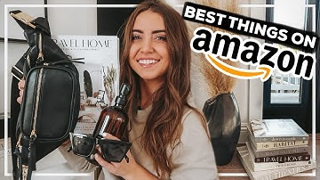 AMAZON MUST-HAVES for 2021! home decor, furniture, + fashion products you NEED