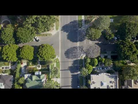 Beverly Hills, California   4k- drone footage