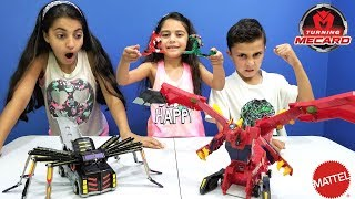Toy Unboxing and Play Turning Mecard Transformer Car Robot! Family fun toy review