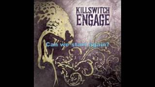 Killswitch engage - starting over with lyrics