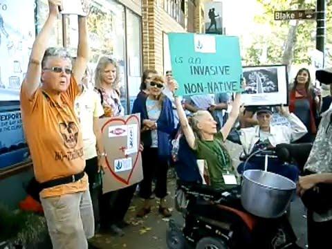 Protest Against Sierra Club's FEMA Lawsuit, August 2015