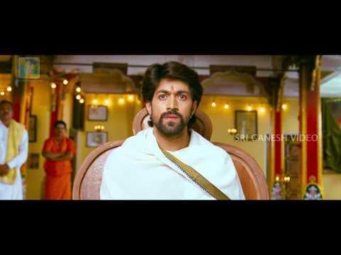 GajaKesari Kannda Movie Scene- Yash as Matadipathi
