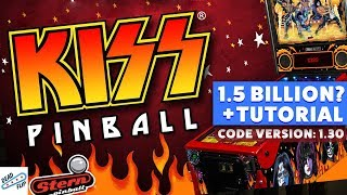 Kiss Pinball Tutorial | 1.5 Billion?! | Oct. 30th, 2017