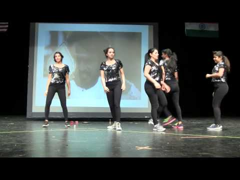 AZ Tamil sangam 2014 Diwali function Rajini songs Dance performance