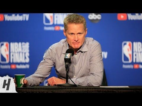 Steve Kerr Postgame Interview - Game 6 | Raptors vs Warriors | 2019 NBA Finals