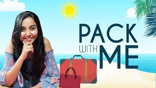 Packing For My Beach Vacation! | Pack with me | MostlySane