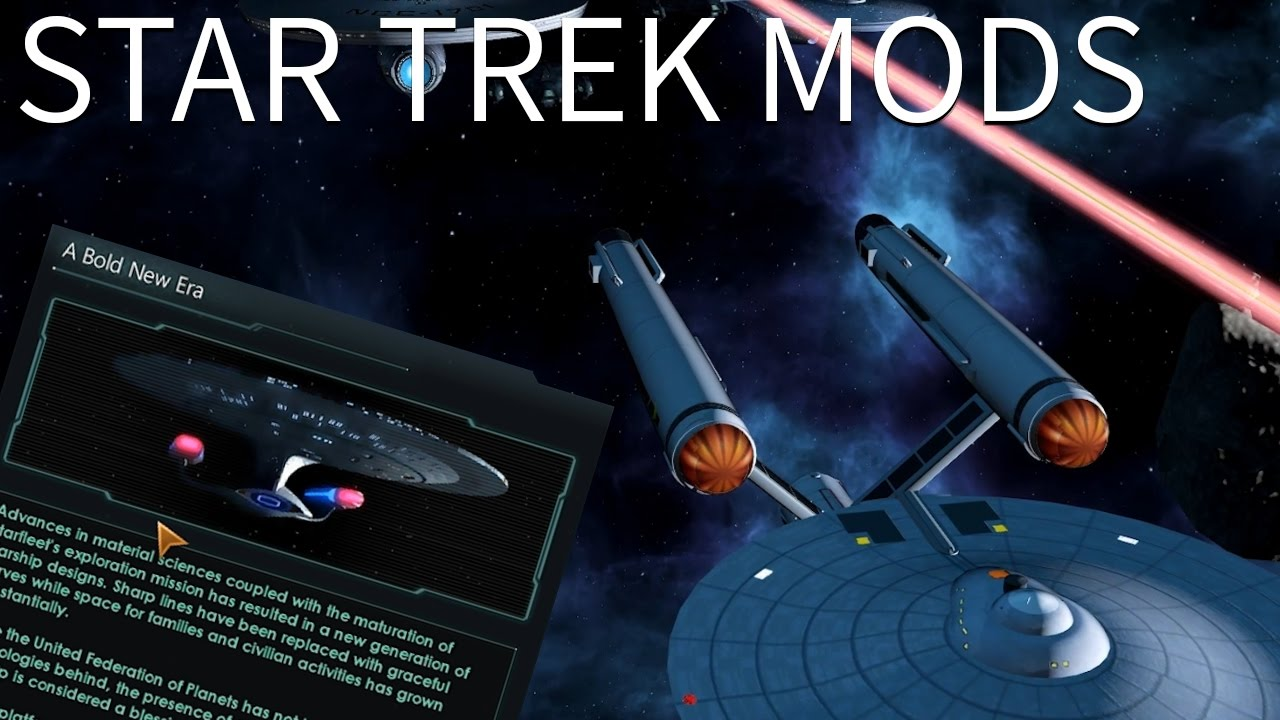 Stellaris - Star Trek New Horizon Mod Overview - YouTube