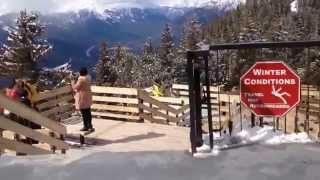 Banff Alberta. Canadian Rockies - Gondola - Banff Springs Hotel...