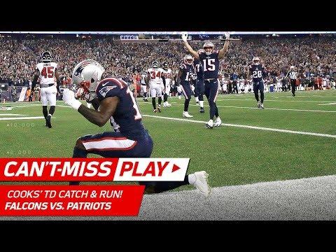 Patriots FG Block Sets Up Tom Brady