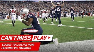 Patriots FG Block Sets Up Tom Brady's TD Toss to Brandin Cooks! | Can't-Miss Play | NFL Wk 7