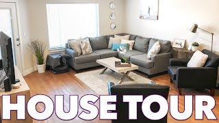 JARED AND BRITT HOUSE TOUR | LIVING IN AN APARTMENT BUILDING