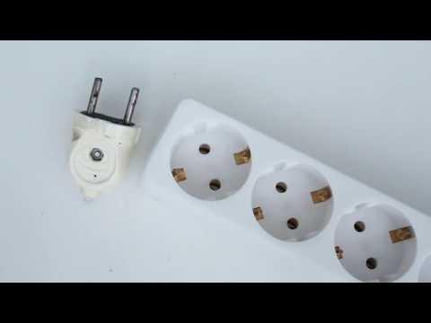 Cómo conectar el LED a una toma de CA / 220 V
