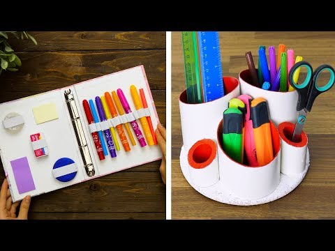 15 COOL STATIONERY DIYS