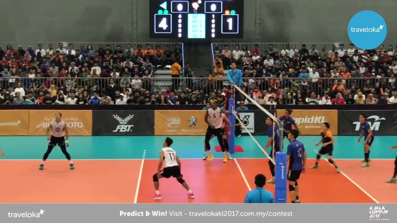 Live From Mitec Men S Team Volleyball Malaysia Vs Thailand Youtube