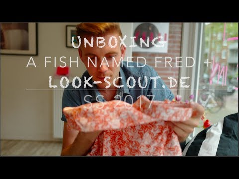 UNBOXING - A Fish Named Fred Frühling/Sommer 2017 X Look-scout.de