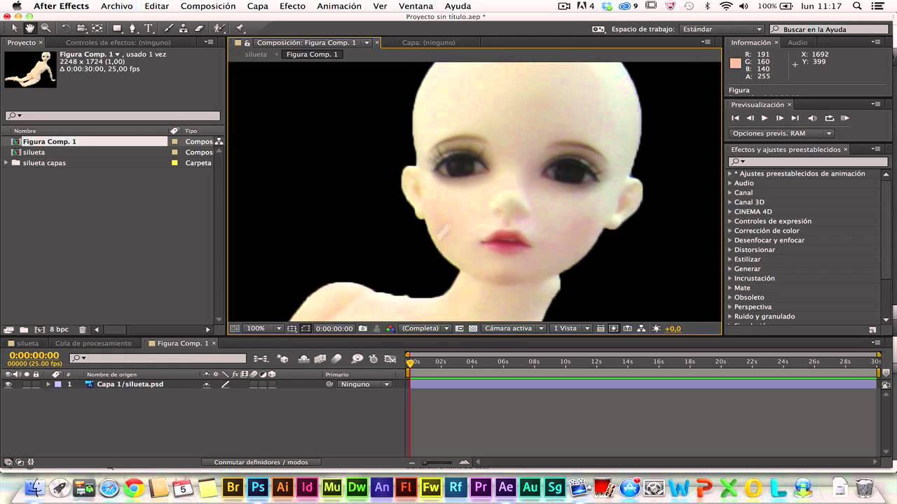 Creación De Animación A Partir De Imagen Fija En After Effects Cc Youtube