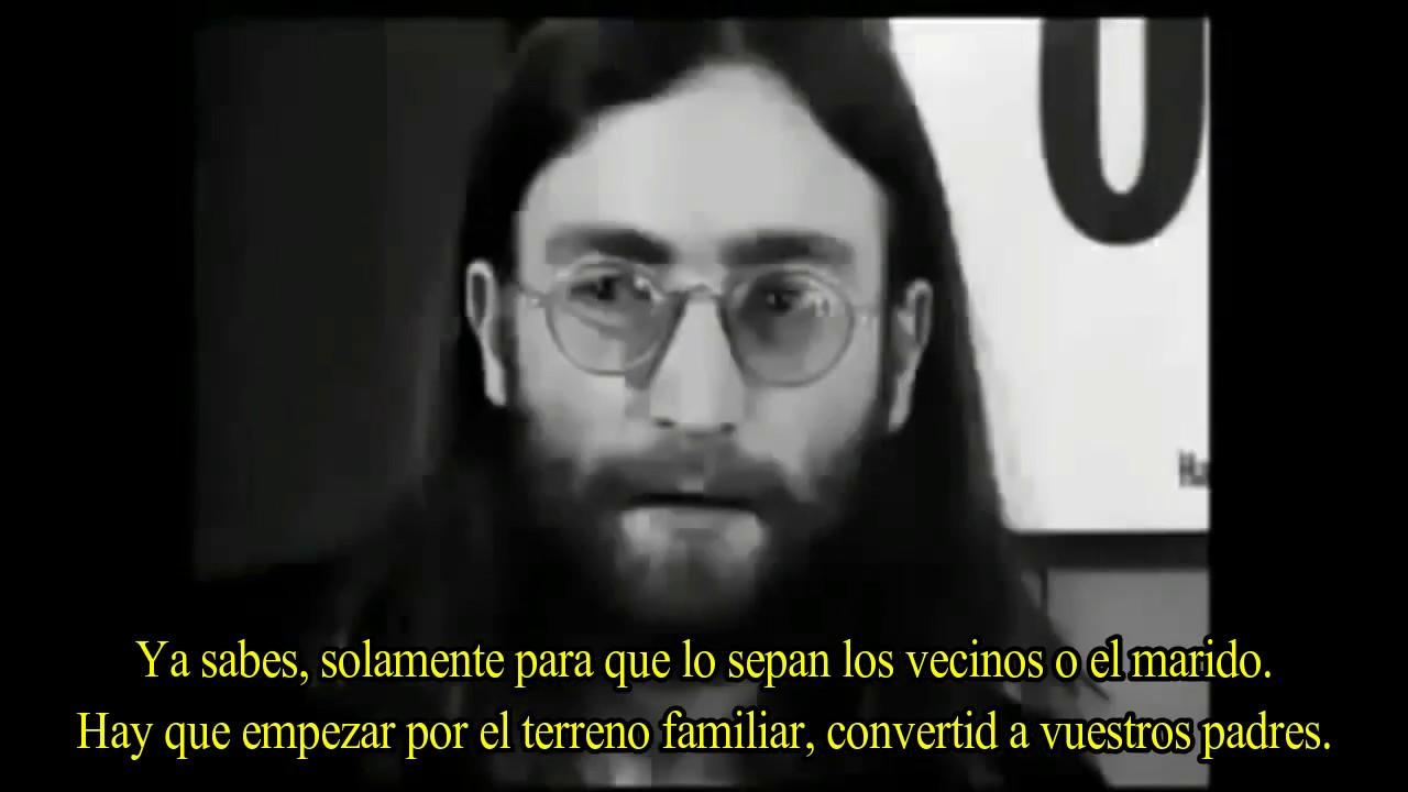 El sacrificio illuminati de John Lennon