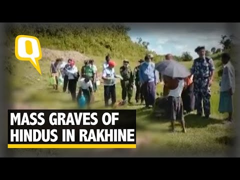45 Slain Hindu Bodies Found in Three Mass Graves in Rakhine State