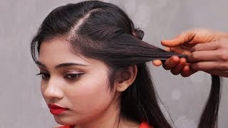 Easy hairstyles for School/college girls | New Hairstyles For long hair | hair style girl | 2018