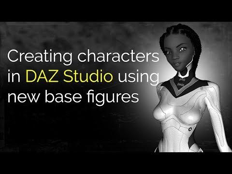Creating Characters in DAZ Studio (Updated Process)