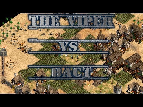 THE VIPER VS BACT PODRA PARARLO VIPER? AGE OF EMPIRES 2