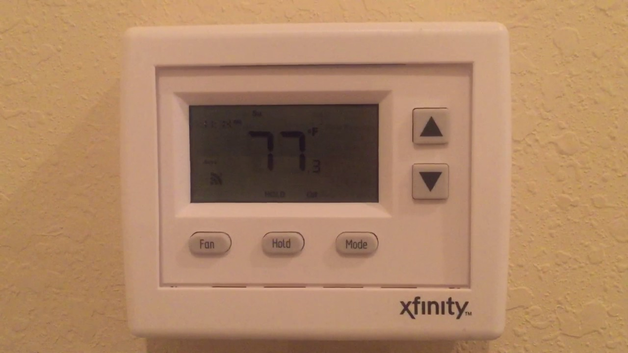 installing xfinity thermostat to hvac or ac youtube. Black Bedroom Furniture Sets. Home Design Ideas