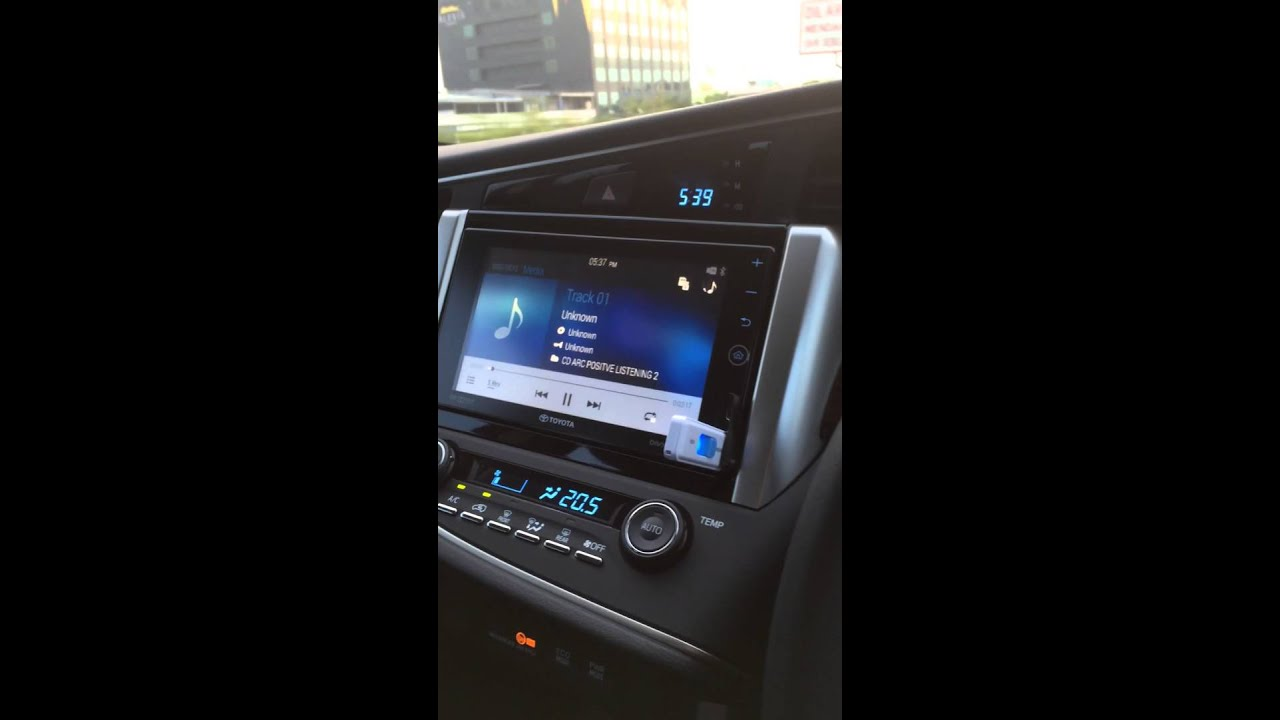 Audio Mobil Toyota New Innova Installations 3 Way System Daily Full Crescendo