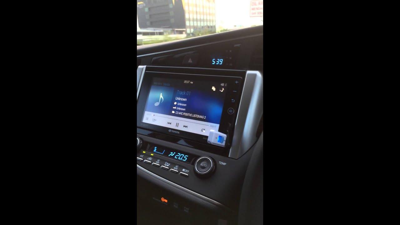 cara pengoperasian audio all new kijang innova beda yaris g dan trd mobil toyota installations 3 way system daily full head speaker ampilifier
